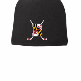 Fitted Knit Cap – Embroidered